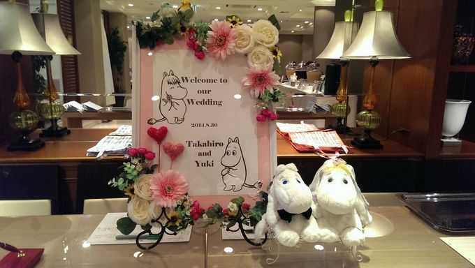 1000+ images about ムーミンがテーマの結婚式 on Pinterest