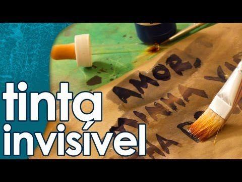 Tinta Invisivel Com Amido De Milho E Tintura De Iodo Tinta