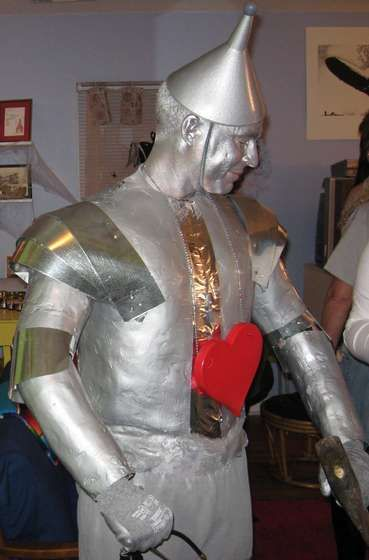 Family Halloween Costume Idea Wizard of Oz tin man Pinterest - halloween costume ideas for men diy