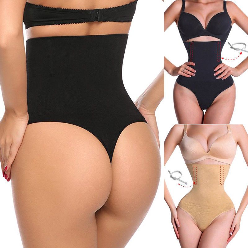 599caa86f2 Slimming Women High-Waist Thong Shapewear Body Shaper Tummy Control Cincher   Unbranded  WaistCinchers  partycelebrationweddingbirthdaydinnershowSportGym