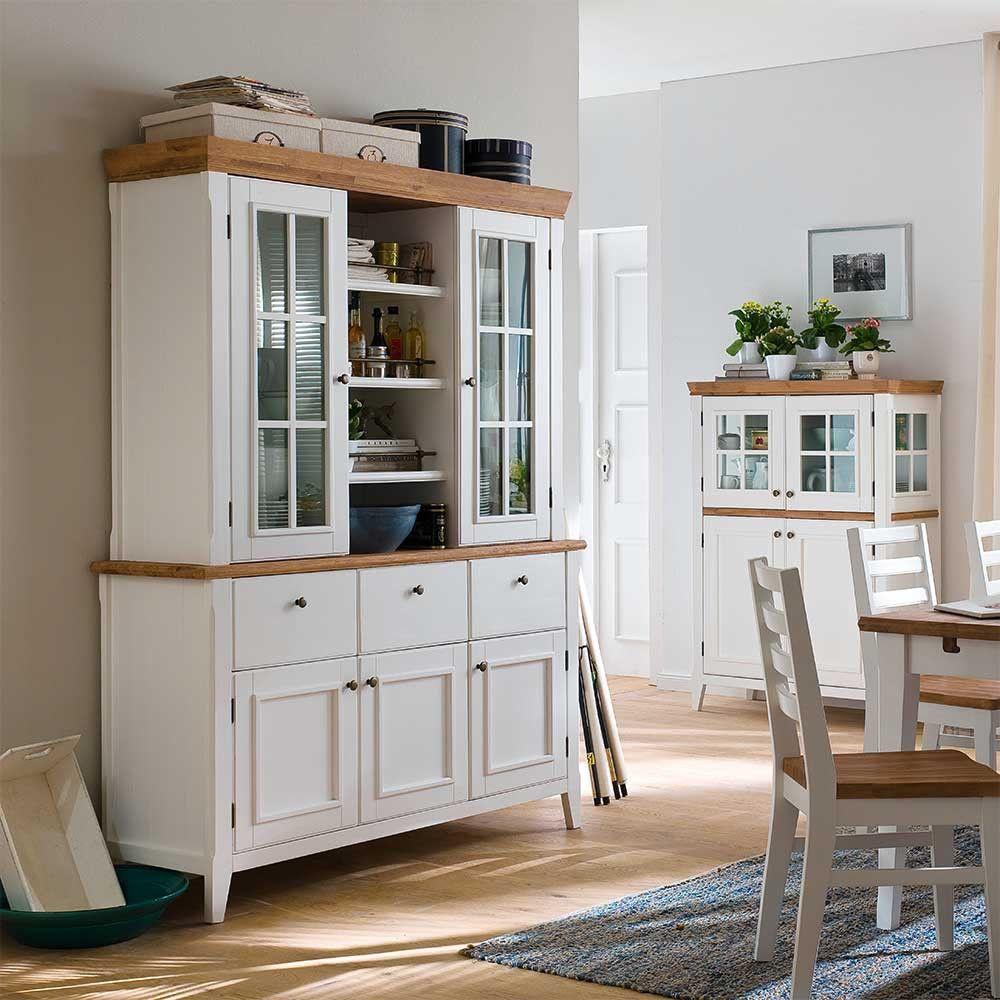 Buffetschrank Padricio in Weiß im Landhausstil | Buffetschrank,  Küchendesign, Ikea küchentisch