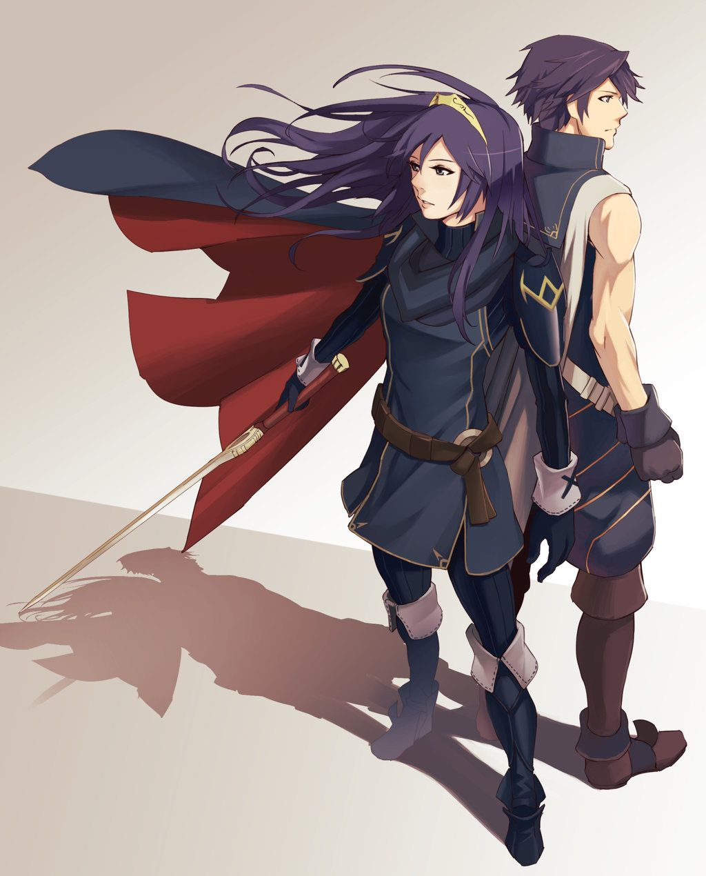 Lucina and Chrom - Fire Emblem Awakening by Blue-Memo ...