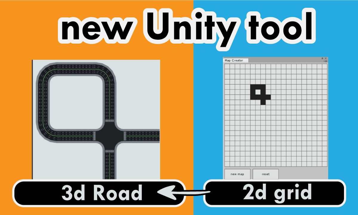 Auto Road Creator[unity asset store product] super easy