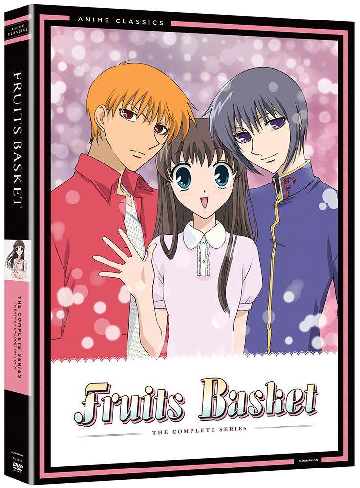 Fruits Basket DVD Anime Classics Fruits basket, Fruits