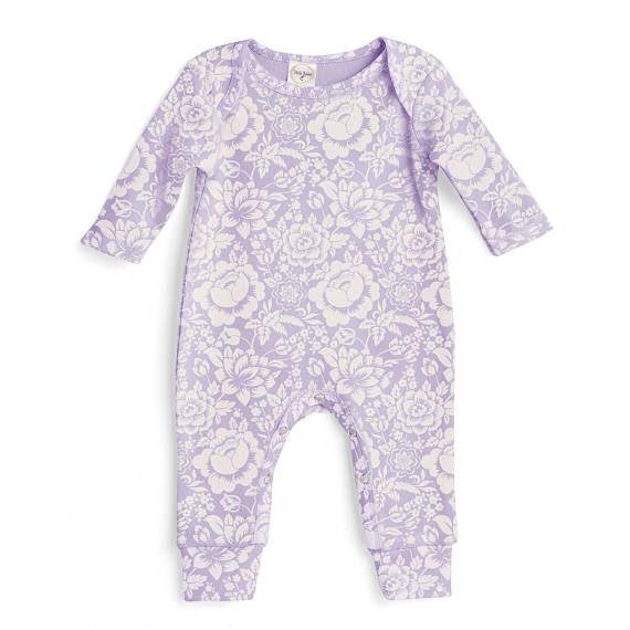 Baby girl romper lavender purple baby girl purple bodysuit infant girl onesie newborn baby girl floral romper tesababe girl outfits babies and girls