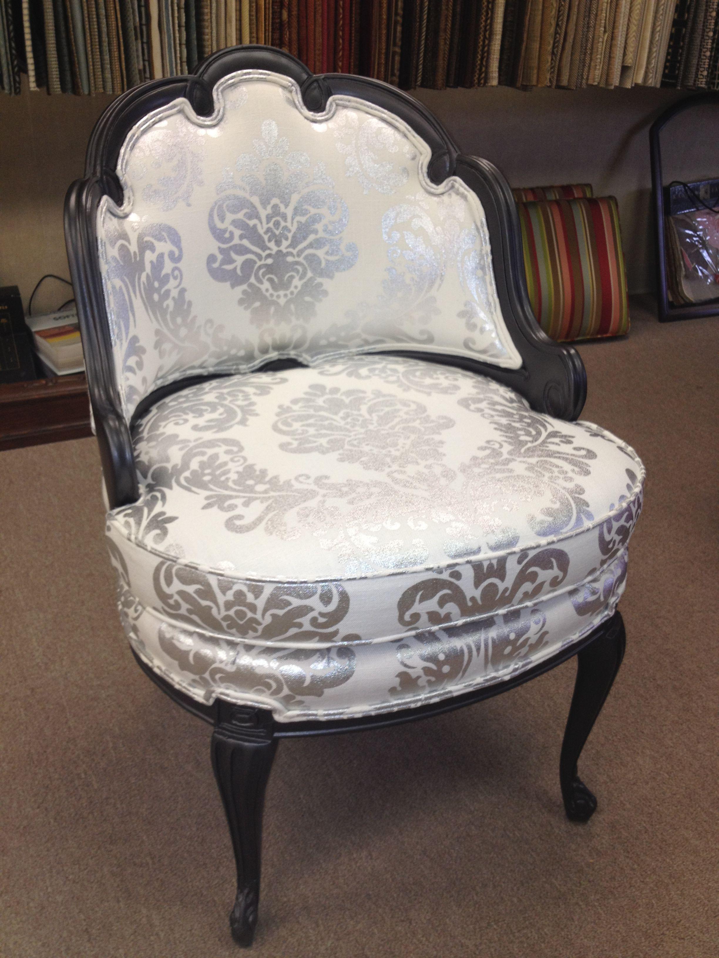 #antique #reupholstered