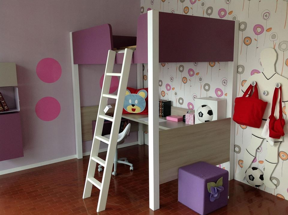Siloma Camerette ~ Siloma furniture in the nursery nursery