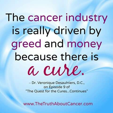 Cancer Is Curable