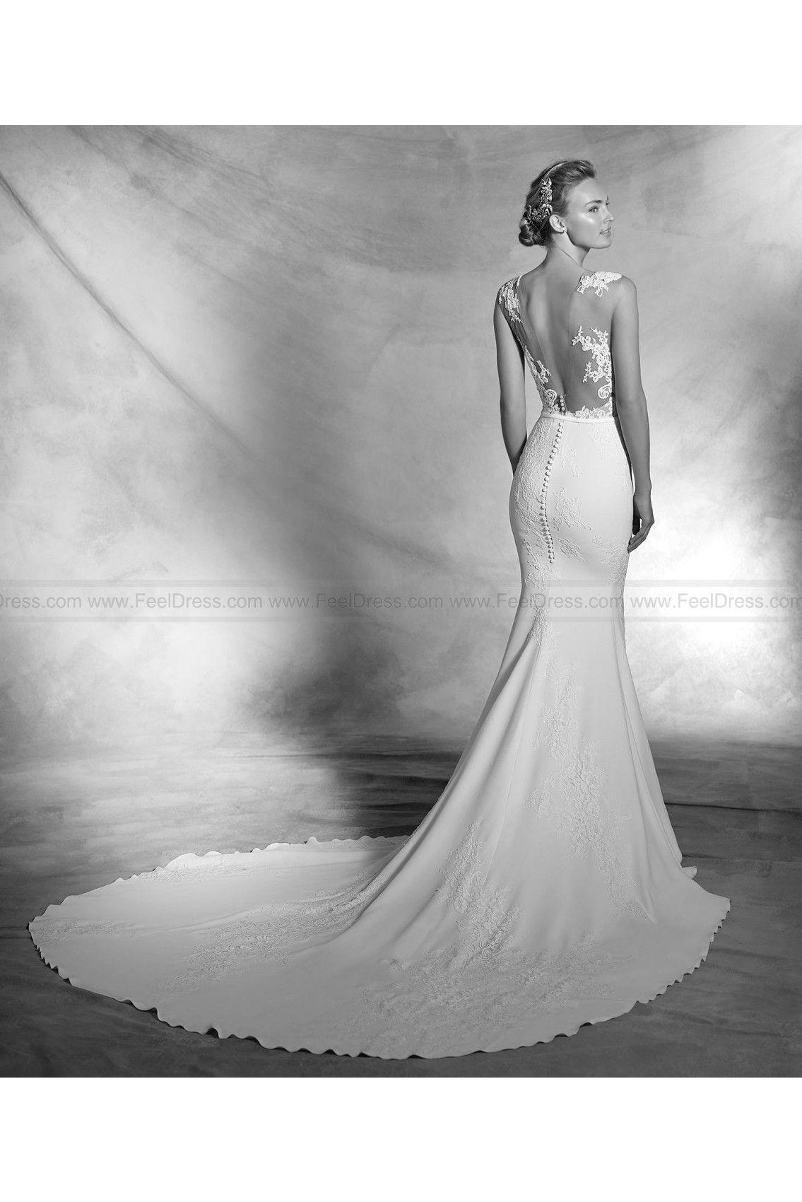4233f977c557 2016 Atelier Pronovias Style Vicenta on sale at reasonable prices, buy cheap  2016 Atelier Pronovias Style Vicenta at www.feeldress.com now!
