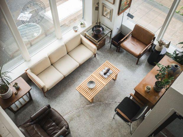 Desain Interior Ruang Tamu Scandinavian