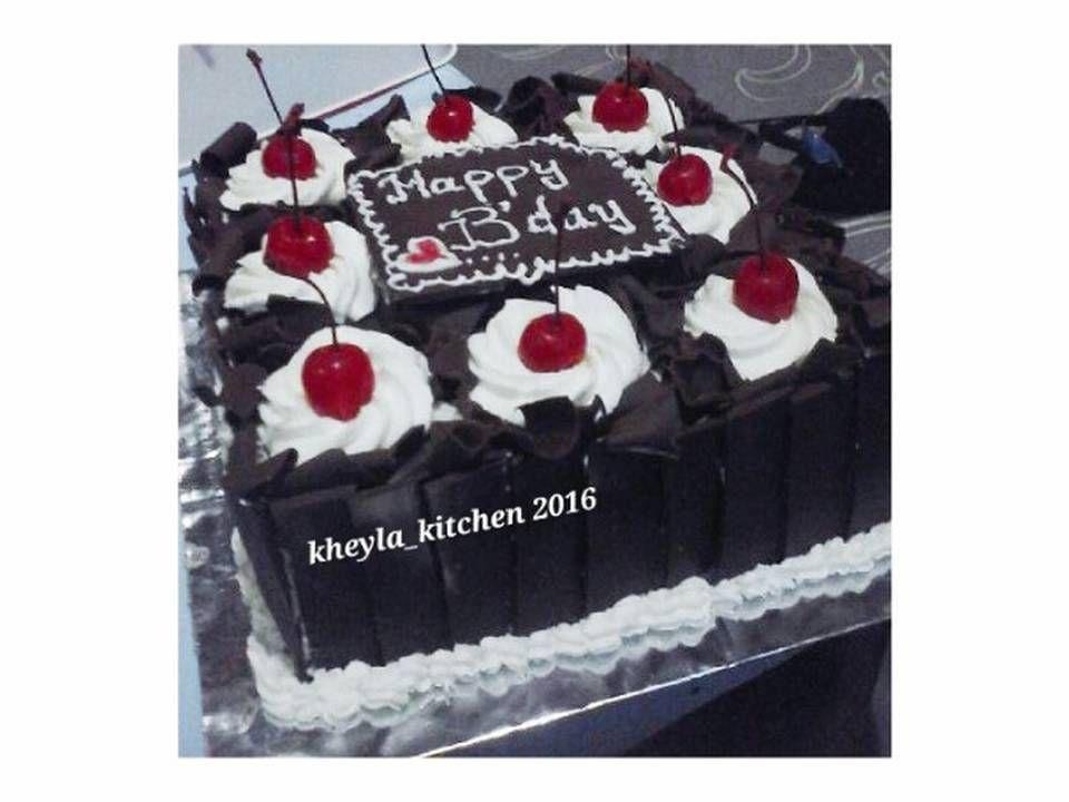 Resep Black Forest Lembut Nyoklat Kue Ulang Tahun Oleh Kheyla S Kitchen Resep Kue Ulang Tahun Ulang Tahun Resep Kue Coklat