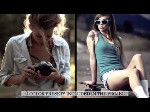 Grunge Camera Effect : Grunge film style videohive after effects template