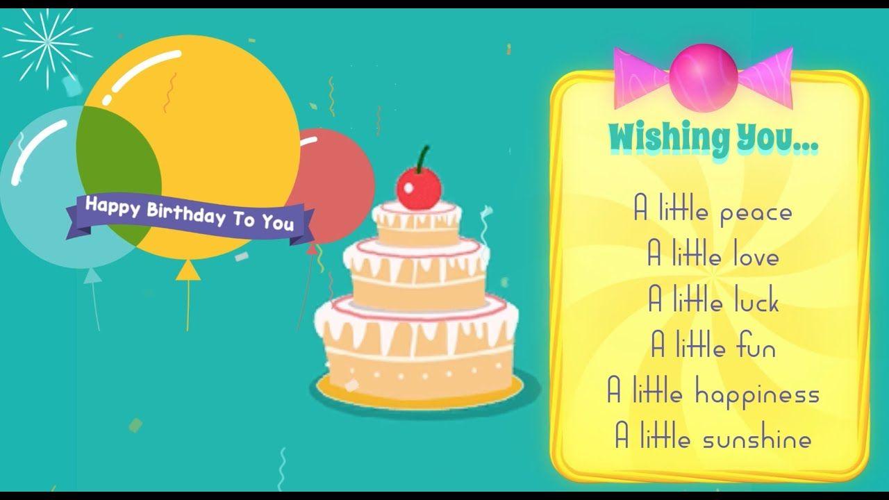 Best Birthday Wishes Ever Happy Birthday To You Birthday Wishes Wish