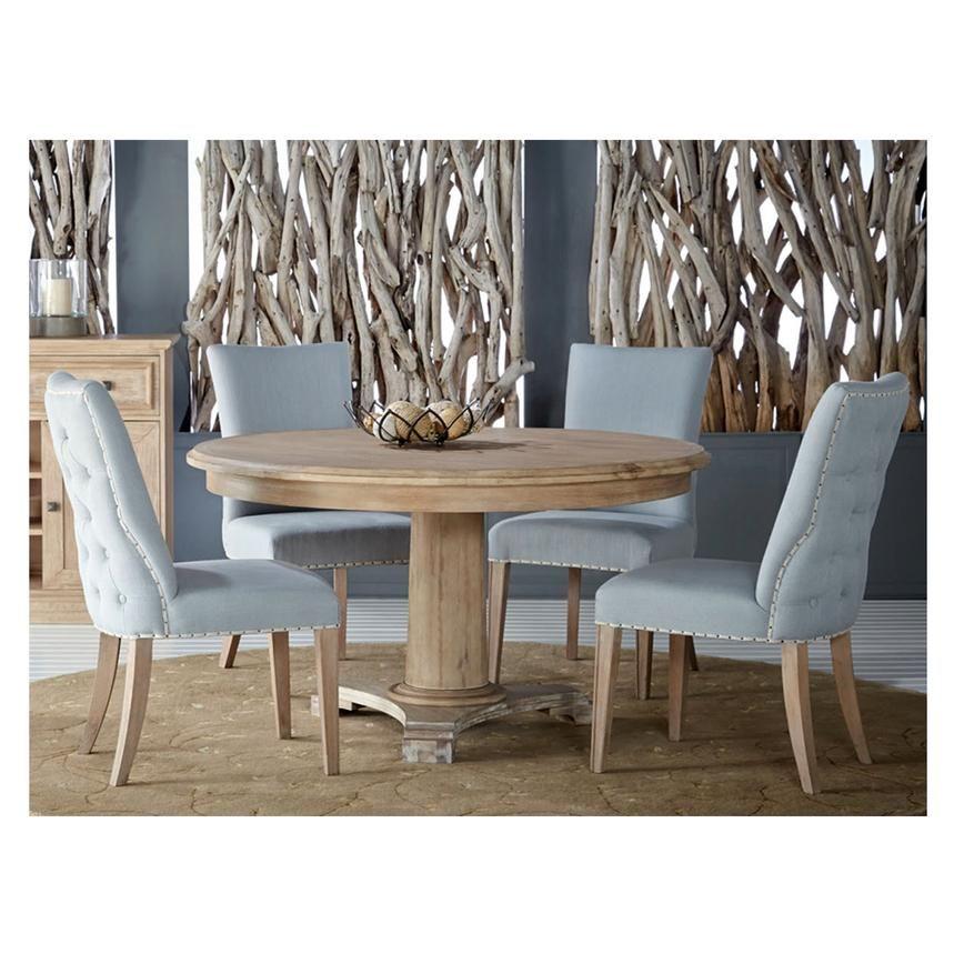 """Eldorado Dining Room El Dorado Furniture  Beltran 54"""" Round Dining Table  Our New"""