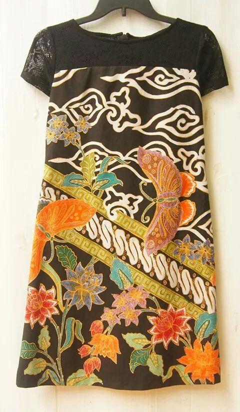 black brokat and batik