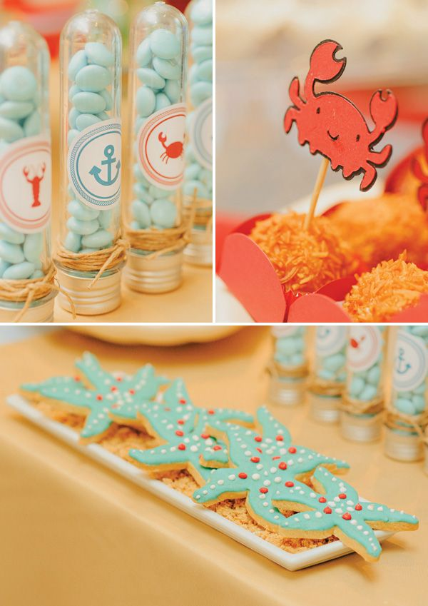 Boys Under The Sea First Birthday Party