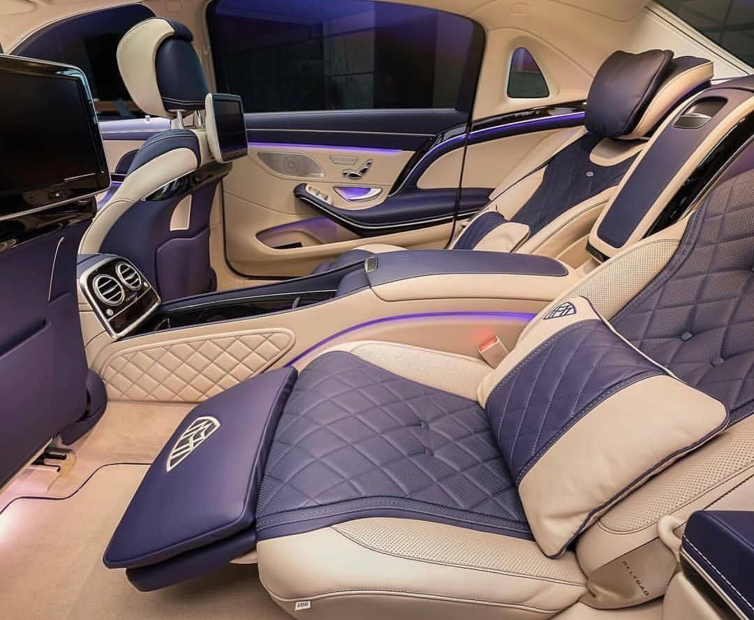 Incredibly Stunning Maybach Interior Via @luxallday | Tag A Friend! Spread  The Wealth! Snapchat @LuxuriousClub | #LuxuriousClub