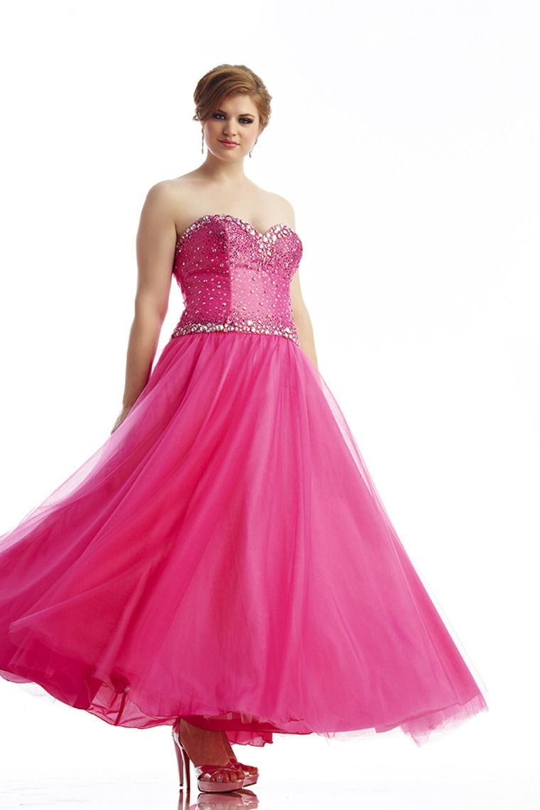 2014 Sweetheart A Line Beaded Prom Dress With Long Tulle Skirt ...