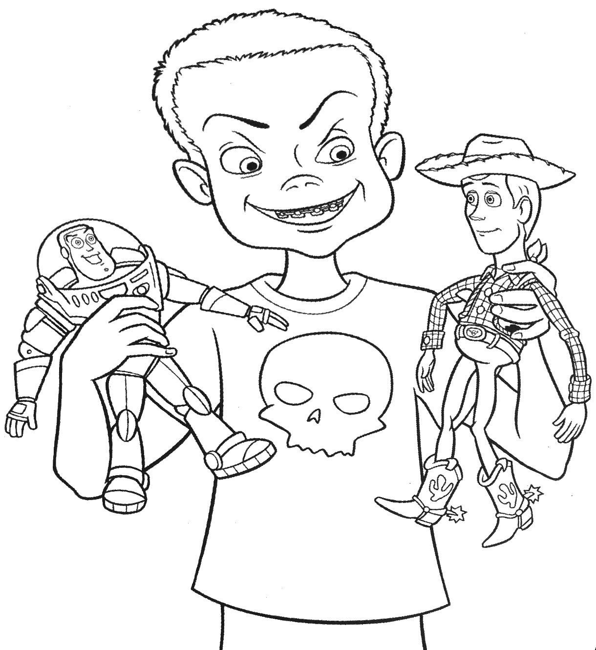 Easy Toy Story 3 Jessie Coloring Pages Sogning
