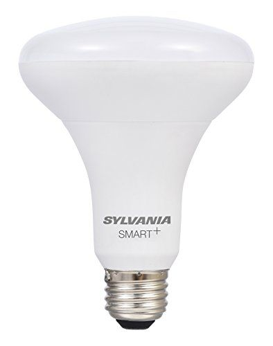 SYLVANIA SMART OnOffDim LED Light Bulb 60W Equivalent BR30 10 Year ...