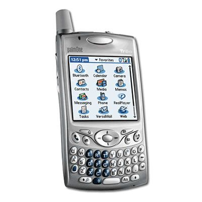 Palm Treo 650...I owned a darker plastic version of this model