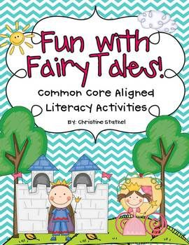 fun with fairy tales common core aligned literacy activities fairy tales unit. Black Bedroom Furniture Sets. Home Design Ideas
