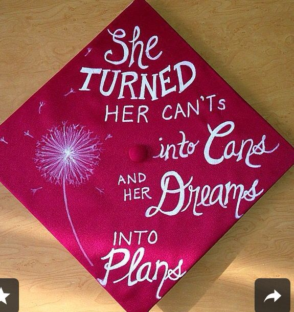 Cap Decorations High School Graduation