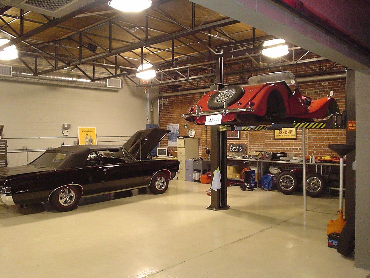 Cool Workshops Garagenbau Garagenbeleuchtung Arbeitsraum In Der Garage