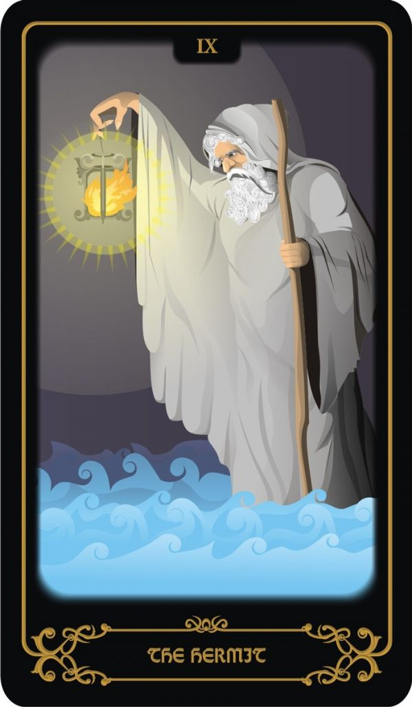 Tarot Cards: The Hermit
