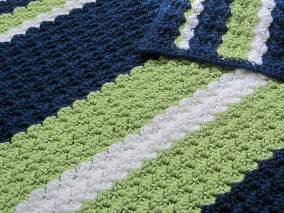 Preppy Baby Reversible Crochet Blanket Pattern By 12charlotte