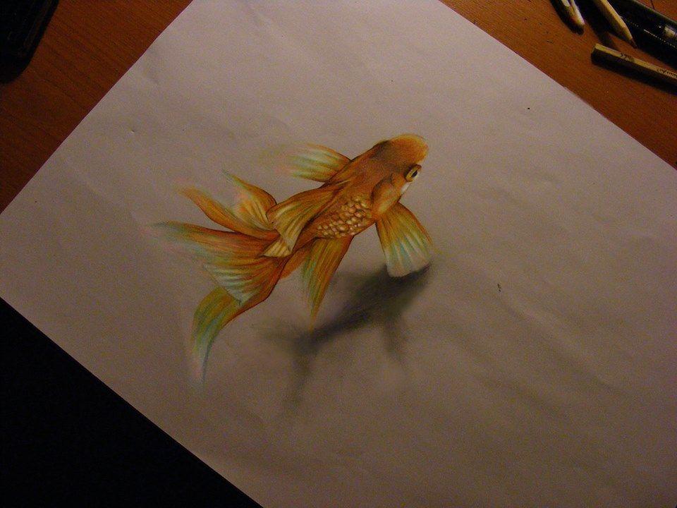 Facebook   Fish drawings, Fish art, Creative art