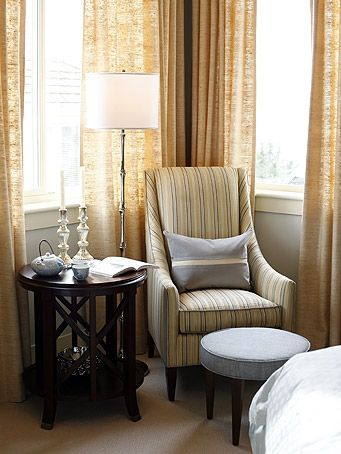 Also a nice look for the corner of the master bedroom| Sarah ...