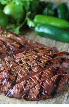 AUTHENTIC CARNE ASADA #grilledsteakmarinades
