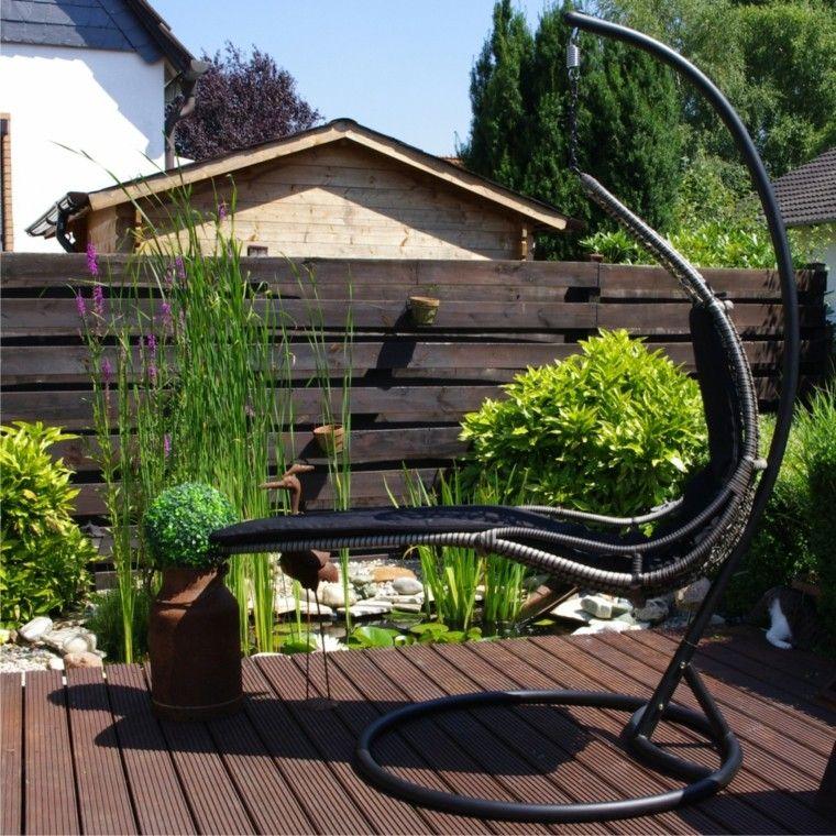 hoy te presentamos las mejores ideas de sillones colgantes de jardn para que pases un verano increible al aire libre balanceandote en tu silln - Sillones Colgantes