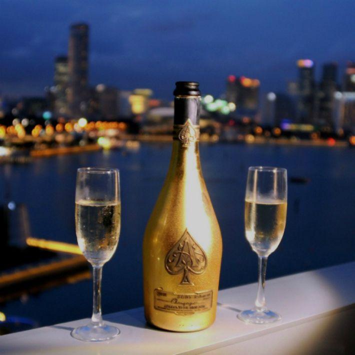 Champagne Armand de Brignac: Customize Your Own Limited Edition Bottle | Discover more: http://designlimitededition.com/
