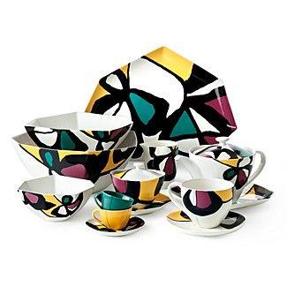 Diane Von Furstenberg Miro Flowers Dinnerware Collection Porcelaine