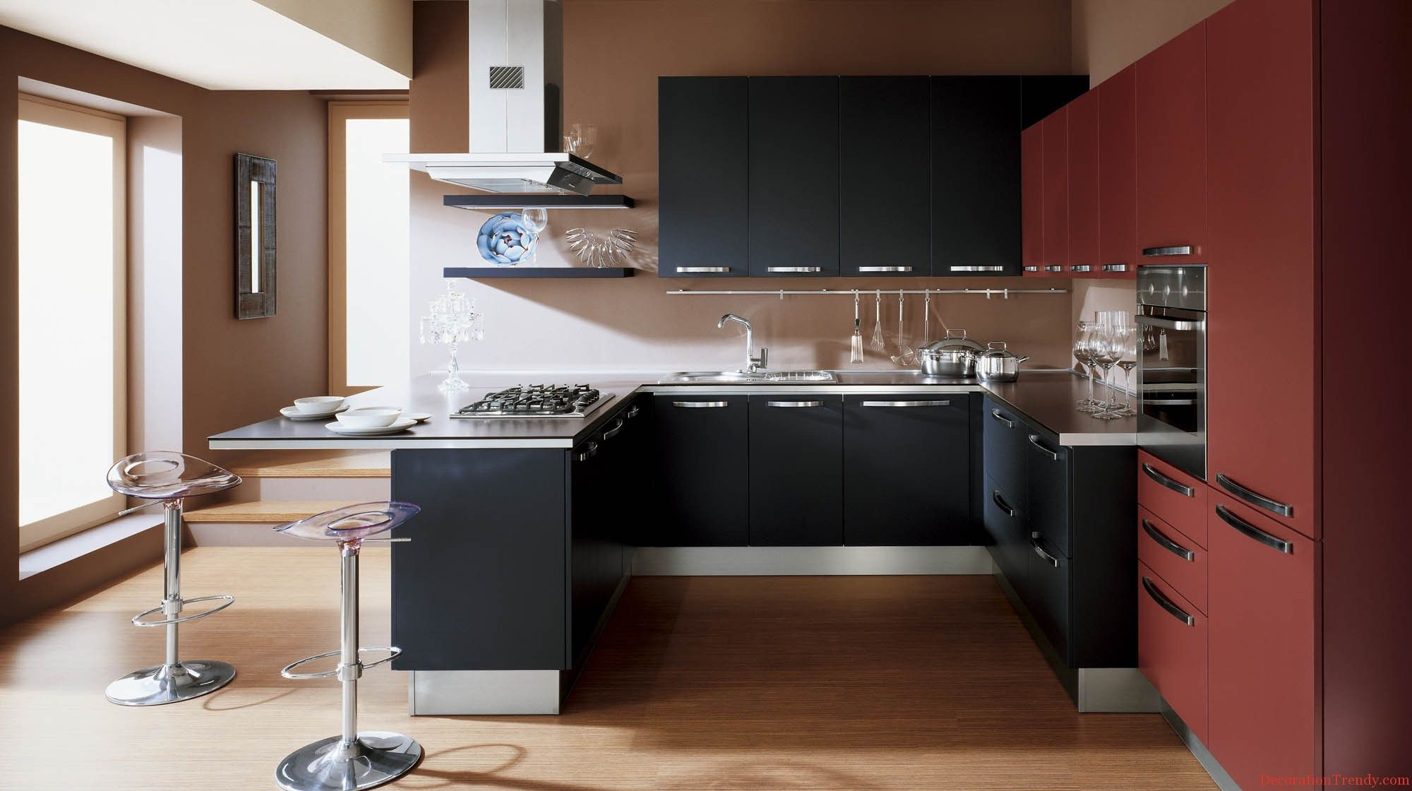 Contemporary Kitchen Design For Small Spaces Awesome 2013 Decorating Ideas For Small Kitchens  Kitchen  Pinterest Inspiration Design