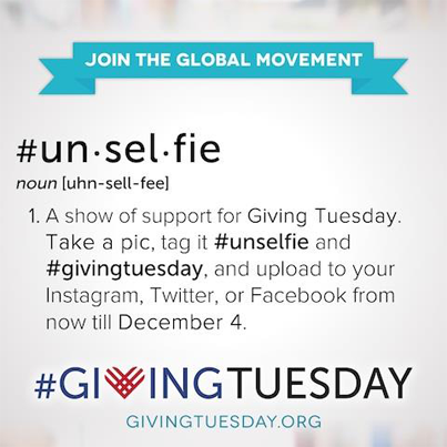 Have you taken an unselfie lately? Join the