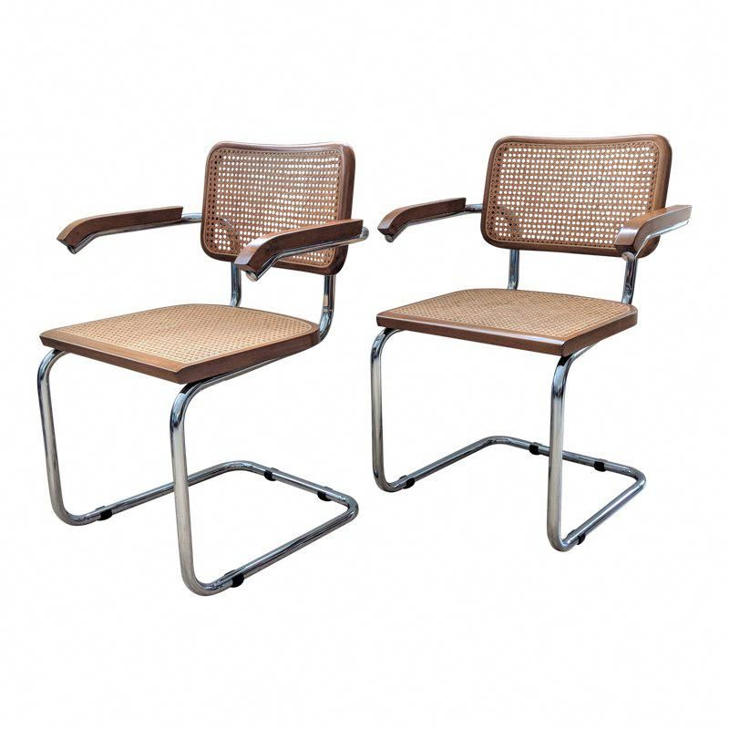 Breuer Chairs For Sale Best Travel High Chair Booster Seat Marcel Cesca Style A Pair Stylingchairs