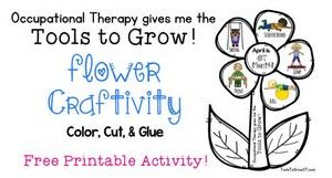 Image Result For Occupational Therapy Logo Coloring Pages Occupational Therapy Pediatric Occupational Therapy Ot Month