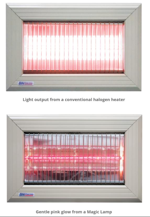 Halogen Heaters And Infrared, Outdoor Halogen Heat Lamp