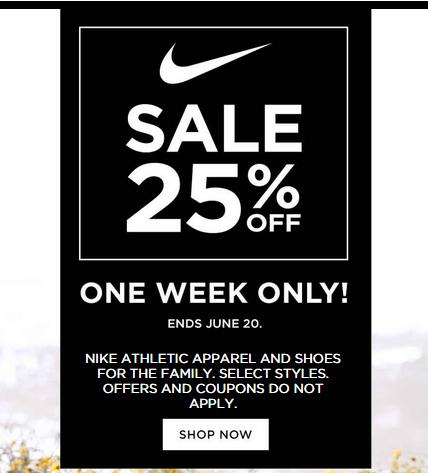 san francisco ed51b aa560 Nike Sale 25% off at Kohl's | Kohls | Coupon deals, Artwork, Art
