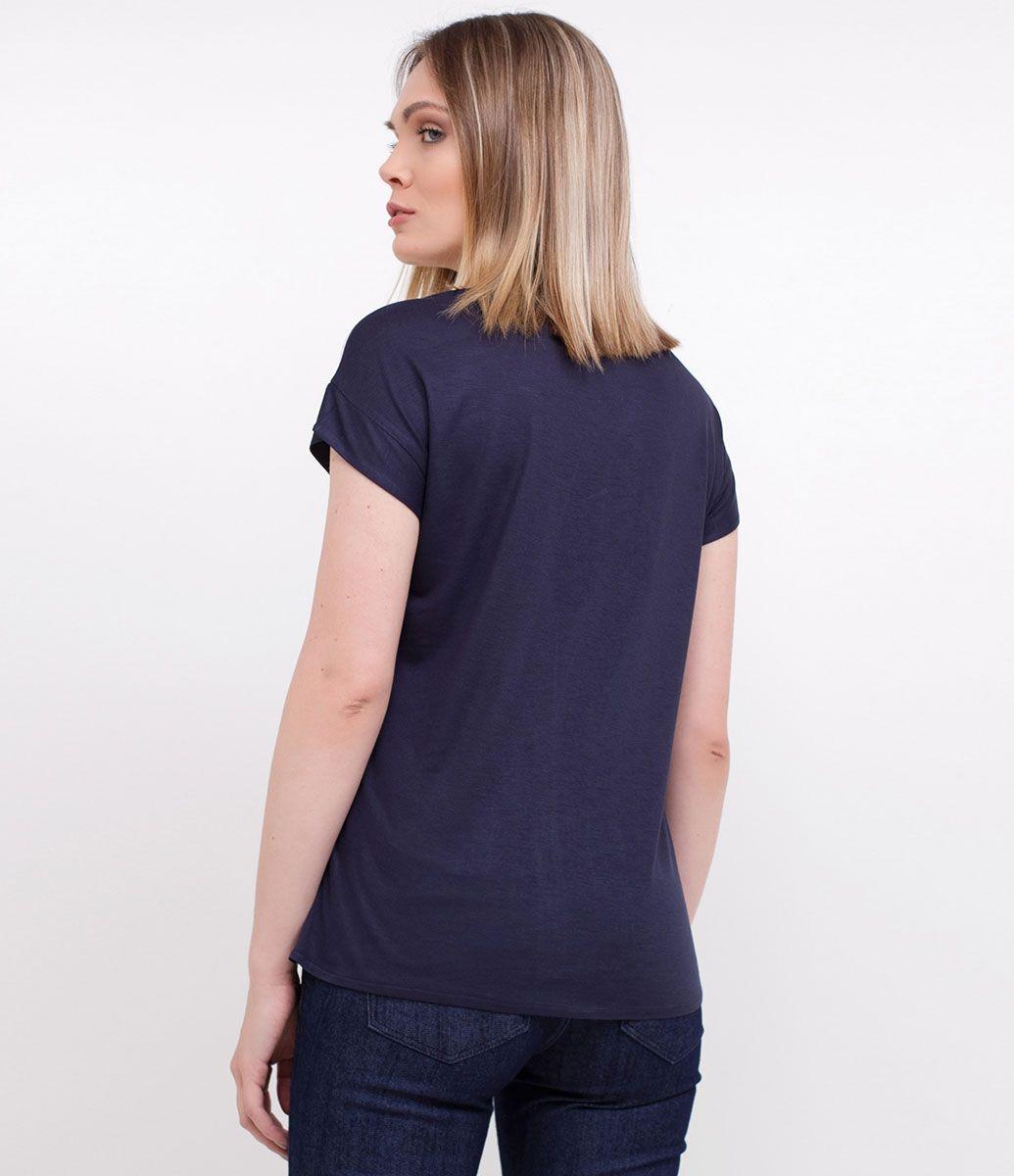 05bb55d18e6c Blusa feminina Com recortes Marca: Cortelle Tecido: viscose Modelo veste  tamanho: P Medidas
