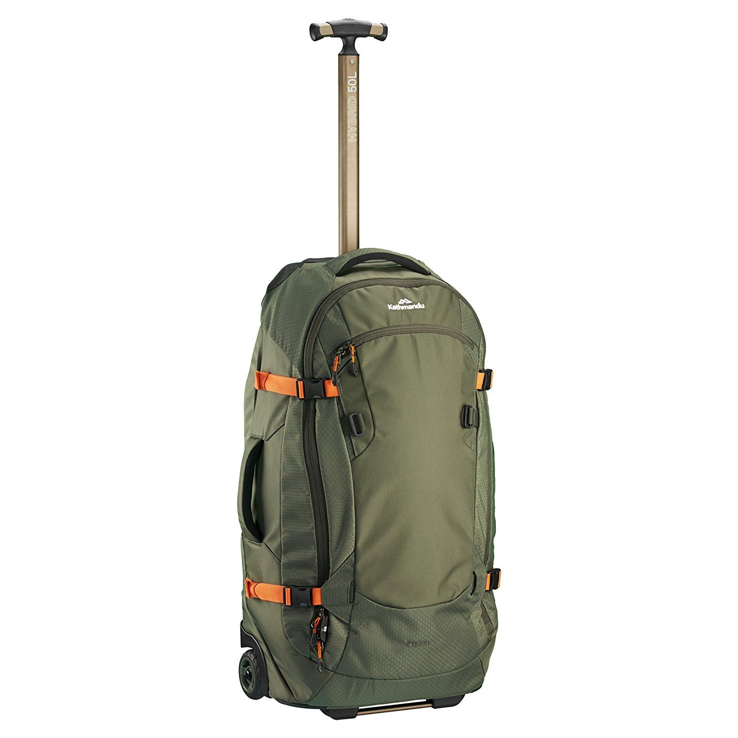 c98b648d83 Kathmandu Hybrid 50L Backpack Harness Wheeled Luggage Trolley v3 - 50LTR   Amazon.co.uk  Sports   Outdoors