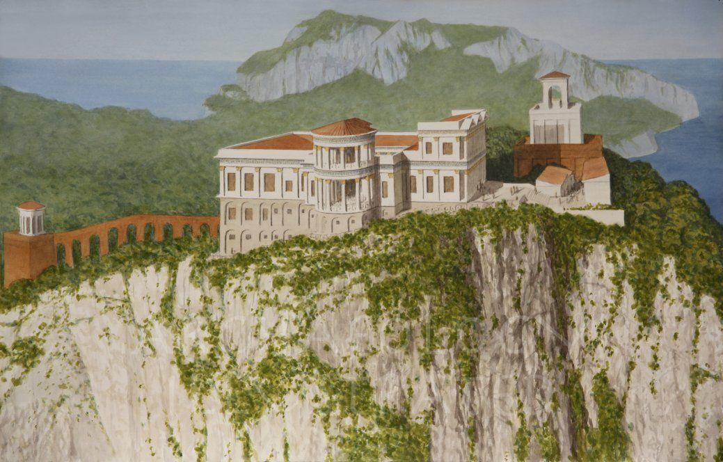 Villa Jovis of Emperor Tiberius on the Island of Capri. 27