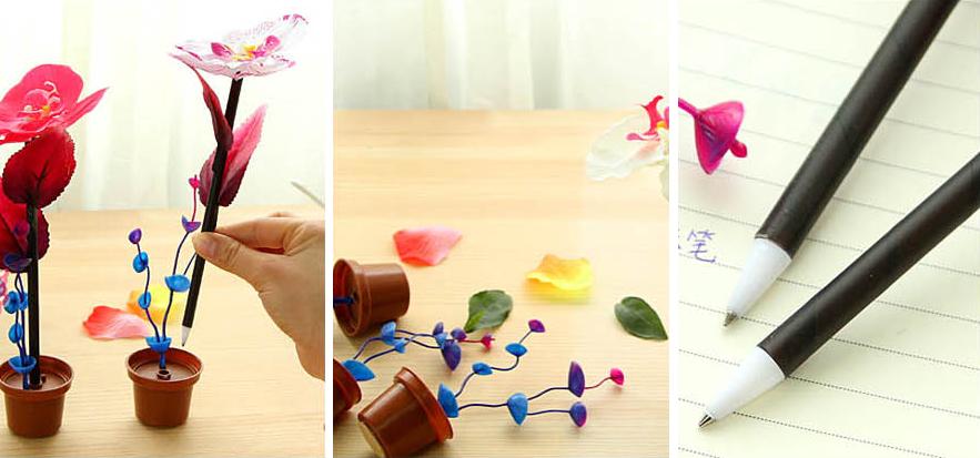Orchid Desk Pen - Thumbnail 4