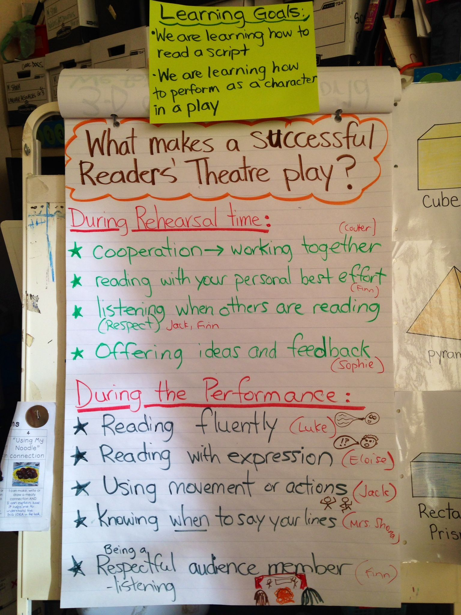 hight resolution of readers theatre more