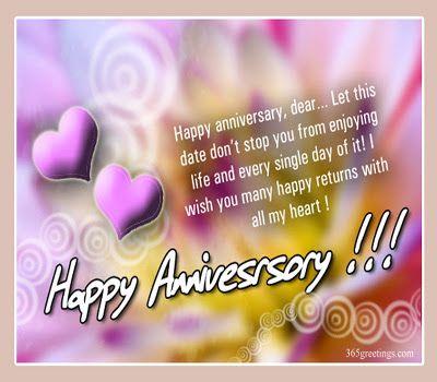 Beautiful Wedding Anniversary Wishes Greeting ECards