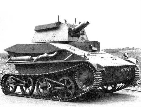 British Tanks of the Inter-war Decades - 1934 - Vickers Light Tank Mk IV