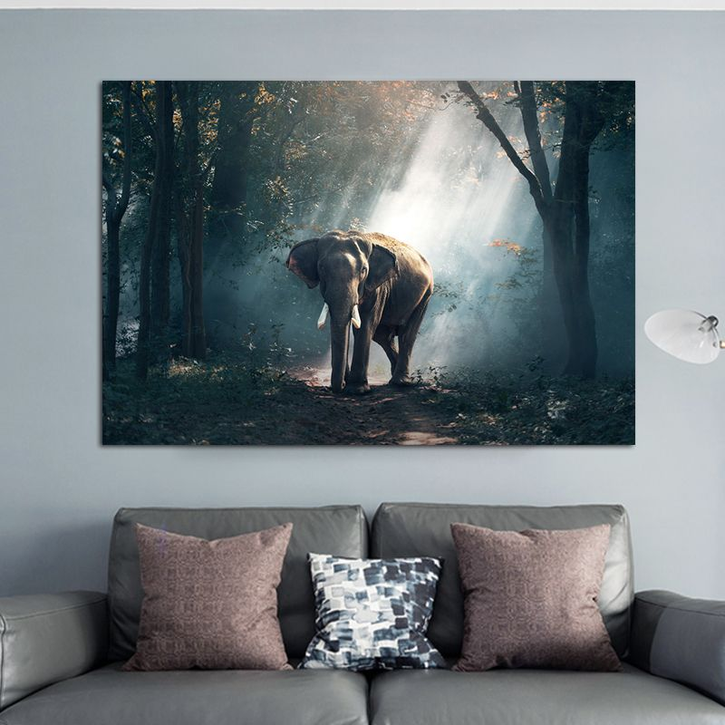 Art Scandinavian Home Decor Abstract Canvas Painting Wall Art Flower Posters And Prints Wall Pictures For Living Room Decoration Elephant Canvas Wall Art Elephant Wall Art Animal Wall Art